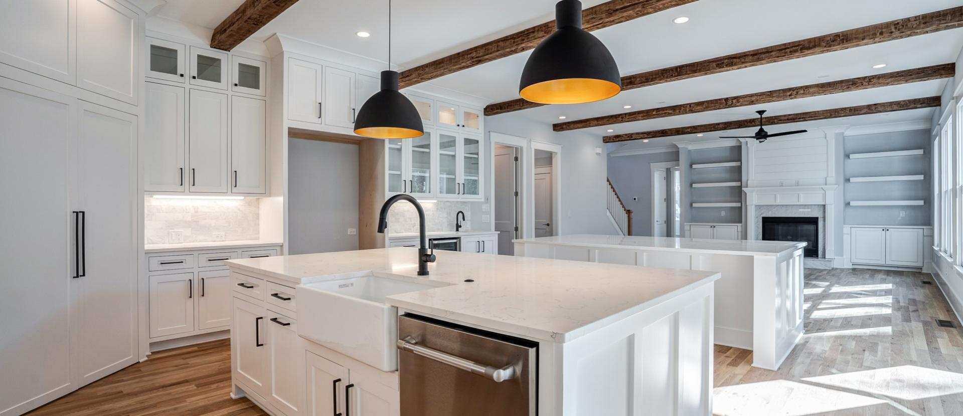 Double Island Kitchen