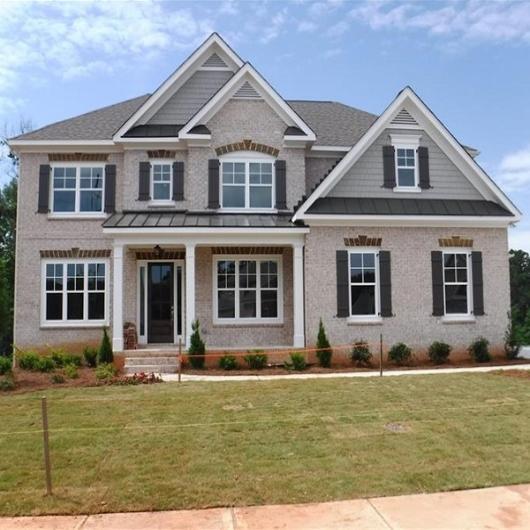 Atlanta Custom Home Builders New Home Design Photo Gallery