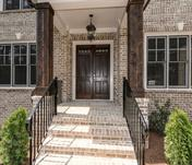 Dramatic entry in Custom East Cobb home built by Waterford Homes