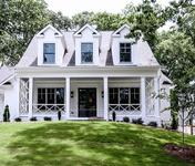 Modern Farmhouse style Custom Home in Chamblee built by Atlanta Homebuilder Waterford Homes