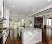 Large Open Floor plan in Custom Home built by Atlanta Homebuilder, Waterford Homes