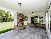 Outdoor Patio with Bluestone Pavers great for entertaining at the Callahan by Waterford Homes at Regency Point