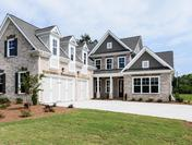 Provence Master On Main Plan by Waterford Homes at Regency Point with 3 Car Garage