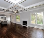 Kitchen open to Family Room in Sandy Springs built by Waterford