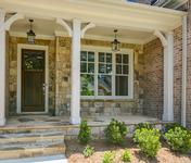 Front Portch of The Williston built by Waterford Homes in Sandy Springs