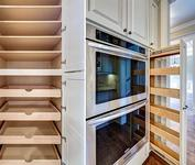 Pantry shelving in home built by Atlanta Home builder Waterford Homes