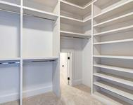 Master Closet Built Ins in home built by Atlanta Home builder Waterford Homes
