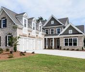 Provence Master on Main built by Atlanta home builder Waterford Homes in Regency Point Suwanee, GA