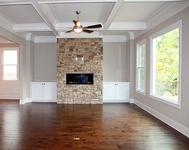 Stacked Stone FP in this home Built by Atlanta Home Builder Waterford Homes