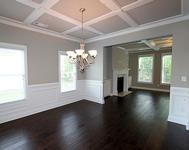 Classic Formal Dining Room in home built by Atlanta Home builder Waterford Homes