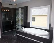 Ebony Tile with Enlarged Shower