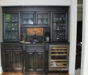 Butlers Pantry in home built by Waterford Homes