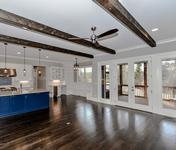 Craftsman Stunner in the Brookhaven Custom Home built by Waterford Homes