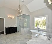 Vaulted Ceilings with Steam Shower