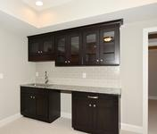 Wetbar in home built by Atlanta Home Builder Waterford Homes