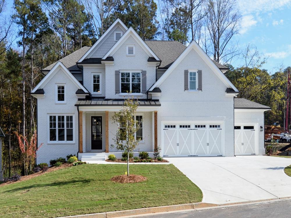 Terrific New Homes For Sale In Marietta Ga 345 Ellis Preserve Lane Home Interior And Landscaping Palasignezvosmurscom